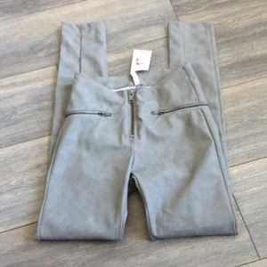 DIVIDED Skinny Faux Leather Pants NWT